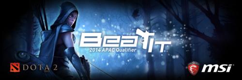 『MSI Beat it 2014』DOTA2 APAC Main Qualifierが9/30(火)~10/5(日)に開催、日本チームAffectioN!が出場