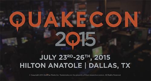 『QuakeCon 2015』が 2015年7月23~26日に開催決定