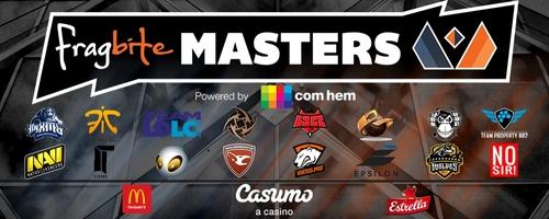 『Fragbite Masters Season3』CS:GO部門の予選グループ分け、スケジュール発表