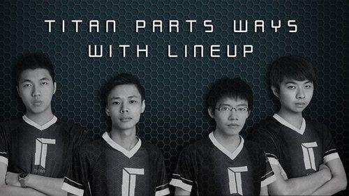 TitanのDOTA2チームから4人が脱退し、有名プレーヤーMushi選手とTeam Malaysiaを結成