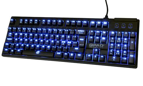 『QPAD』がバックライトLED付きのメカニカルゲーミングキーボード『QPAD MK-70』を発売