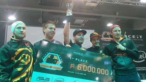 CS:GO大会『FACEIT League Season 2 Finals』で Fnatic が優勝