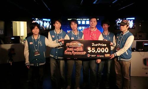 『Hearthstone Japan-China Arena Tournament』日本代表チームは3-5で中国代表チームに惜敗