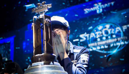 世界大会『2014 StarCraft II World Championship Series Global Finals』でLife選手が優勝