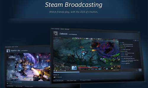Steamにてプレー中のゲームをストリーミング配信して共有できる新機能「Steam Broadcasting」のベータテストがスタート