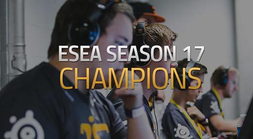 『ESEA Season 17 LAN Finals』にてFnaticが敗者復活から4ゲーム連続勝利で逆転優勝