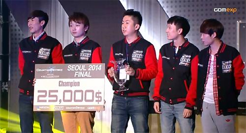 Counter-Strike Online世界大会『CSOWC 2014』で中国LDが優勝