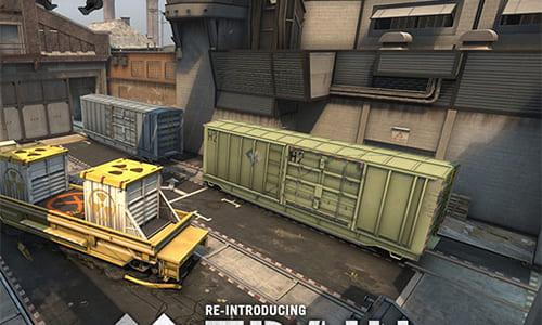 『Counter-Strike: Global Offensive』アップデート(2014-12-10)、マップTrainが競技向けに一新、CZ75が弱体化