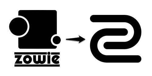ゲーミングデバイスメーカーの『ZOWIE GEAR』がブランドロゴを変更