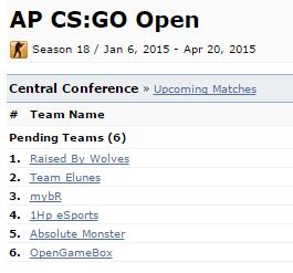 『ESEA League Season18 Asia-Pacific CS:GO Open』が賞金2,000ドルで2015年1月より開催決定