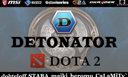 日本のプロゲームチーム「DeToNator」が「DOTA2」部門の新設を発表、日本大会3連覇チーム「AffectioN!」のメンバーが加入