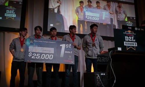『HyperX D2L Season 5』優勝のDota 2チーム LV Gamingが中国のレジェンドチームEHOMEと契約