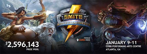 Smite公式世界大会『Smite World Championship』が2015年1月9日(金)~11日(日)にアメリカのアトランで開催