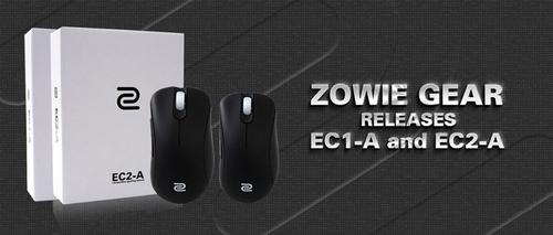 『ZOWIE GEAR』がFKシリーズと同じ光学式センサー・コーティングを採用した右利き用ゲーミングマウス『EC1-A』『EC2-A』を発表