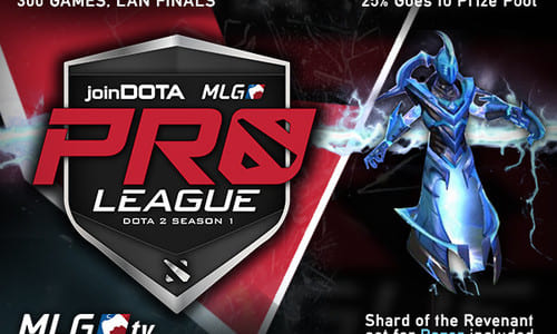 Dota 2大会『joinDOTA MLG Pro League Season 1』が1月24日(土)に開幕