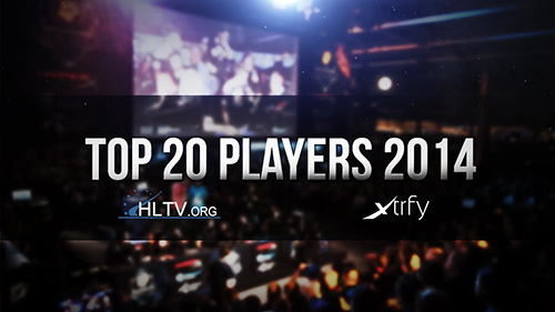 ムービー『HLTV.org's Top 20 Players of 2014』