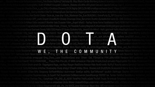 ムービー『Dota - We, the Community』
