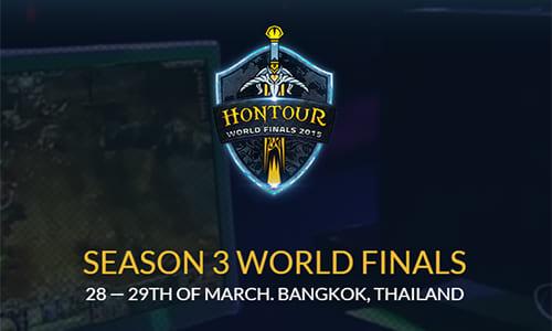 世界大会『HoN Tour Season 3 World Finals』が賞金総額約18万ドルで3月28~29日にタイで開催