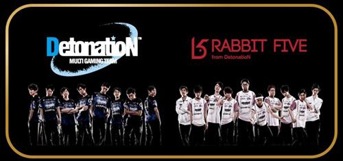 『LJL 2015 SEASON1 FINAL & IWCI日本代表決定戦』の出場チームがDetonatioN FocusMeとDetonatioN RabbitFiveに決定