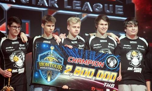世界大会『HoN Tour Season 3 World Finals』でBad Monkey Gamingが優勝