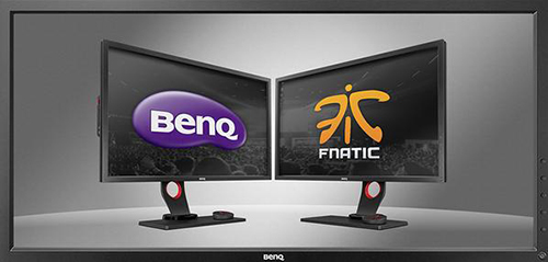 『BenQ』がプロゲームチーム『Fnatic』の公式モニタースポンサーに