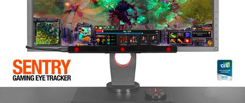 ゲーマー向けのアイトラッキングシステム『SteelSeries Sentry Gaming Eye Tracker』が4/28(火)より国内販売開始