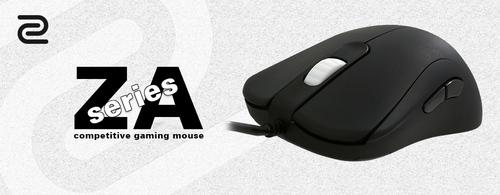 『ZOWIE GEAR』の左右対称型ゲーミングマウス『ZA』シリーズが5/29(金)に国内販売開始