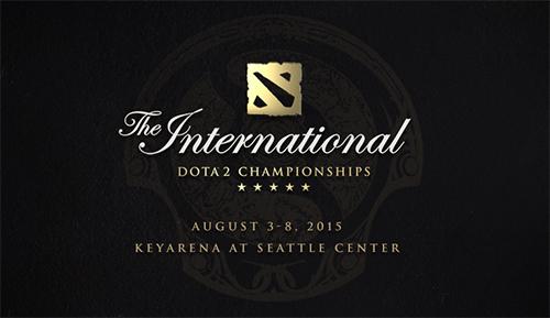 Dota 2世界大会『The International 2015』Main Event Day1が日本時間の8/4(火)2時からスタート予定