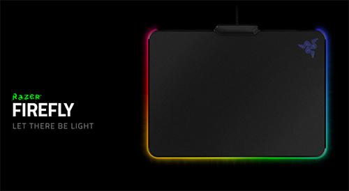 1680万色のカラー設定や発光エフェクトを指定可能なゲーミングマウスパッド『Razer Firefly』発表