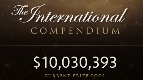 Dota 2公式世界大会『The International 2015』の賞金総額が1,000万ドル(約12億円)を突破