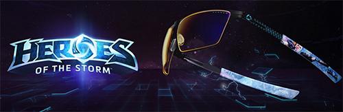 『Heroes of the Storm』コラボモデルのゲーミングアイウェアがGUNNAR Optiksから登場