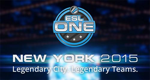 賞金総額25万ドルのDota 2大会『ESL One New York 2015』のトーナメント組み合わせ決定