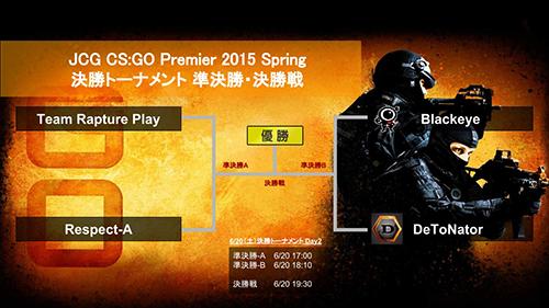 CS:GO大会『JCG Premier 2015 Spring』でDeToNatorが優勝