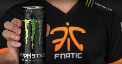 プロゲームチームFnaticがエナジードリンク『Monster Energy』とパーナーシップ契約を締結