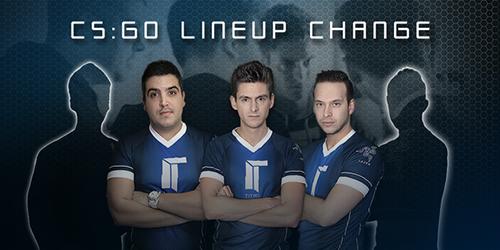 Team EnVyUsとTitanがCS:GOのラインナップ変更、両チームから2選手ずつが移籍