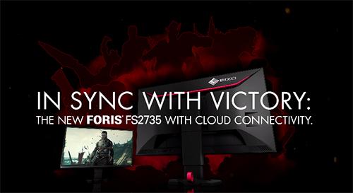 『EIZO』が144Hz駆動、FreeSync対応の27インチゲーミングモニタ「FORIS FS2735」を発表、今冬に発売予定