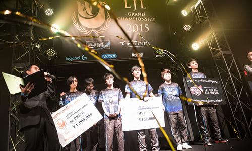 Riot Games公式大会の出場権をかけた『LJL 2015 Grand Championship』でDetonatioN FocusMeが優勝、2連覇を達成