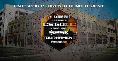 アメリカのeスポーツ専門施設「eSports Arena」ローンチイベント『CS:GO:OC $25K TOURNAMENT』が9月19、20日に開催