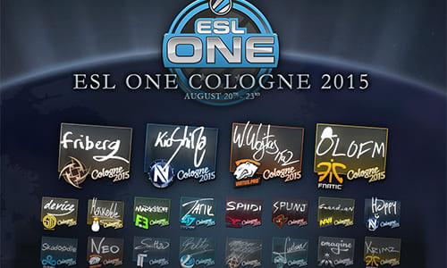 プロチーム・プロゲーマーへの『ESL One Cologne 2015』ステッカー課金アイテムの売上配分が総額が420万ドル以上(約5億円)に