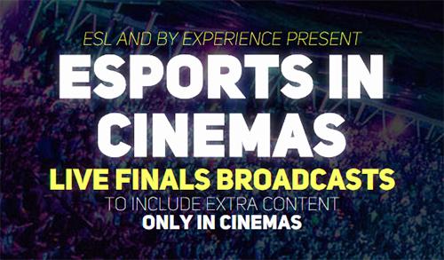 映画館での『ESL One Cologne 2015』ライブビューイングイベント「Esports In Cinemas」が海外で開催