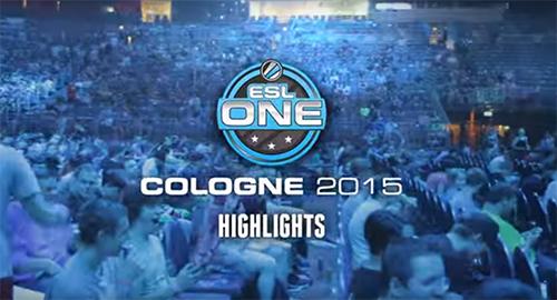ムービー『ESL One Cologne 2015 highlights』