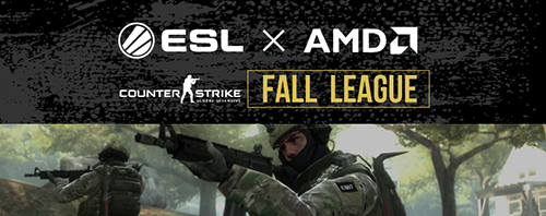 『AMD presents ESL Japan CS:GO Fall Open League』プレーオフ準々決勝第3~4試合が11/6(金)20:30より実施