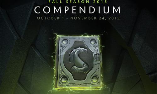Dota 2大会『The Frankfurt Major』のデジタル観戦チケットを含む「The Fall Season 2015 Compendium」リリース
