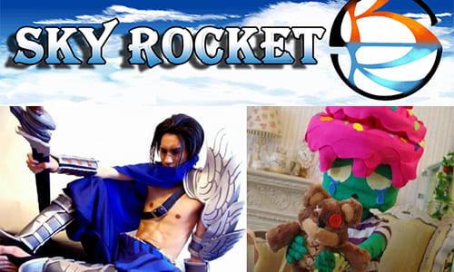 エンターテイメントマルチゲーミングチーム「Sky Rocket」が専属コスプレーヤーの加入を発表