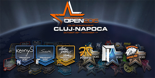 『Counter-Strike: Global Offensive』アップデート(2015-10-20)、DH Cluj-Napoca用のステッカーアイテムが追加