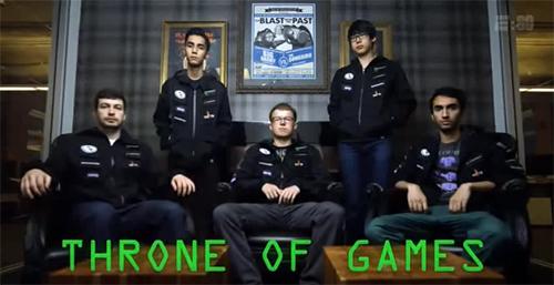Dota 2世界大会王者Evil Geniusesのドキュメンタリムービー『E:60 Throne of Games』