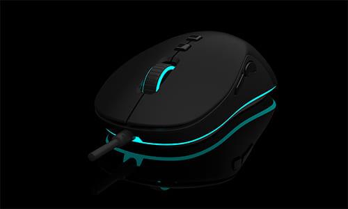 『QPAD』がゲーミングマウス『QPAD DX-20』を発表、『Microsoft Intellimouse 1.1』の形状をインスパイア
