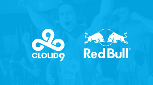 『Red Bull』がプロゲームチームCloud9のオフィシャルパートナーに
