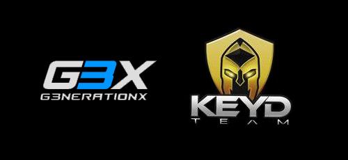 ブラシルのプロゲームチームKeyd Starsとg3nerationXがCS:GOの新ラインナップを発表