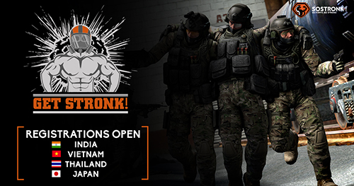 CS:GO大会『Get Stronk!』日本大会が1/16(土)、17(日)に開催
